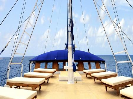 Palau Siren, Sun Deck,