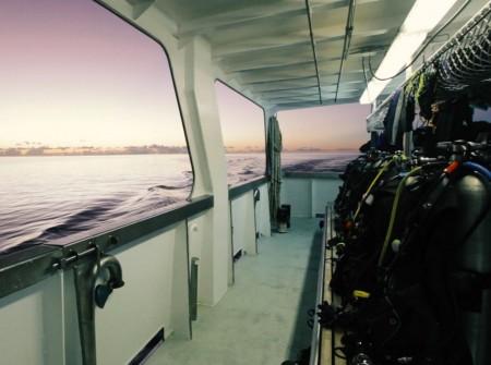 M/V Solomons PNG Master, Diving Equipment, Deck, image