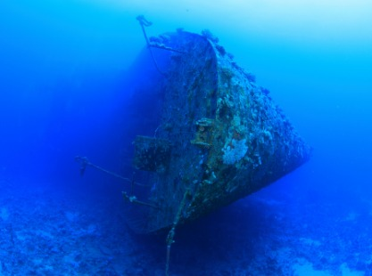 Salem Express wreck in the Red Sea, Egypt
