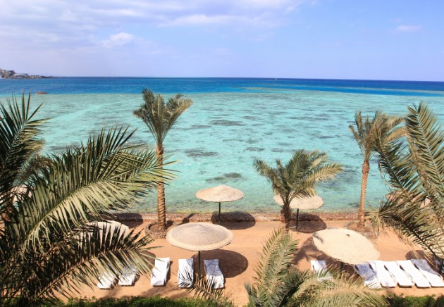 Hotel in Egypt, Red Sea
