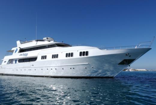 M/Y blue Horizon liveaboard vessel in Egypt, Red Sea