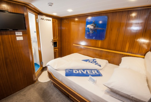 M/Y blue Melody Egypt Red Sea liveaboard double cabin