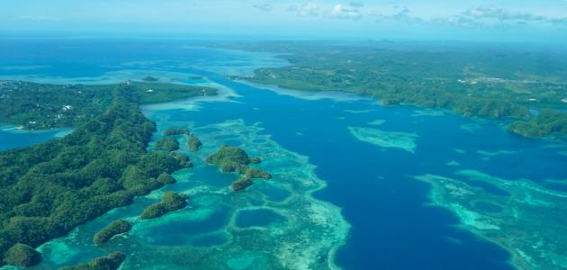 Palau Islands, 7 nights, aerial image,