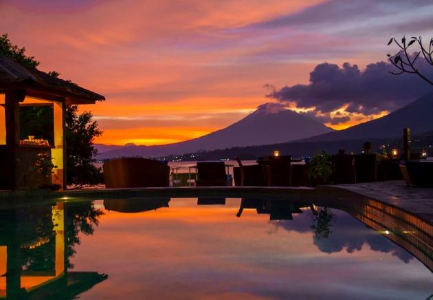 Indonesia, Lembeh Resort, Pool, image,