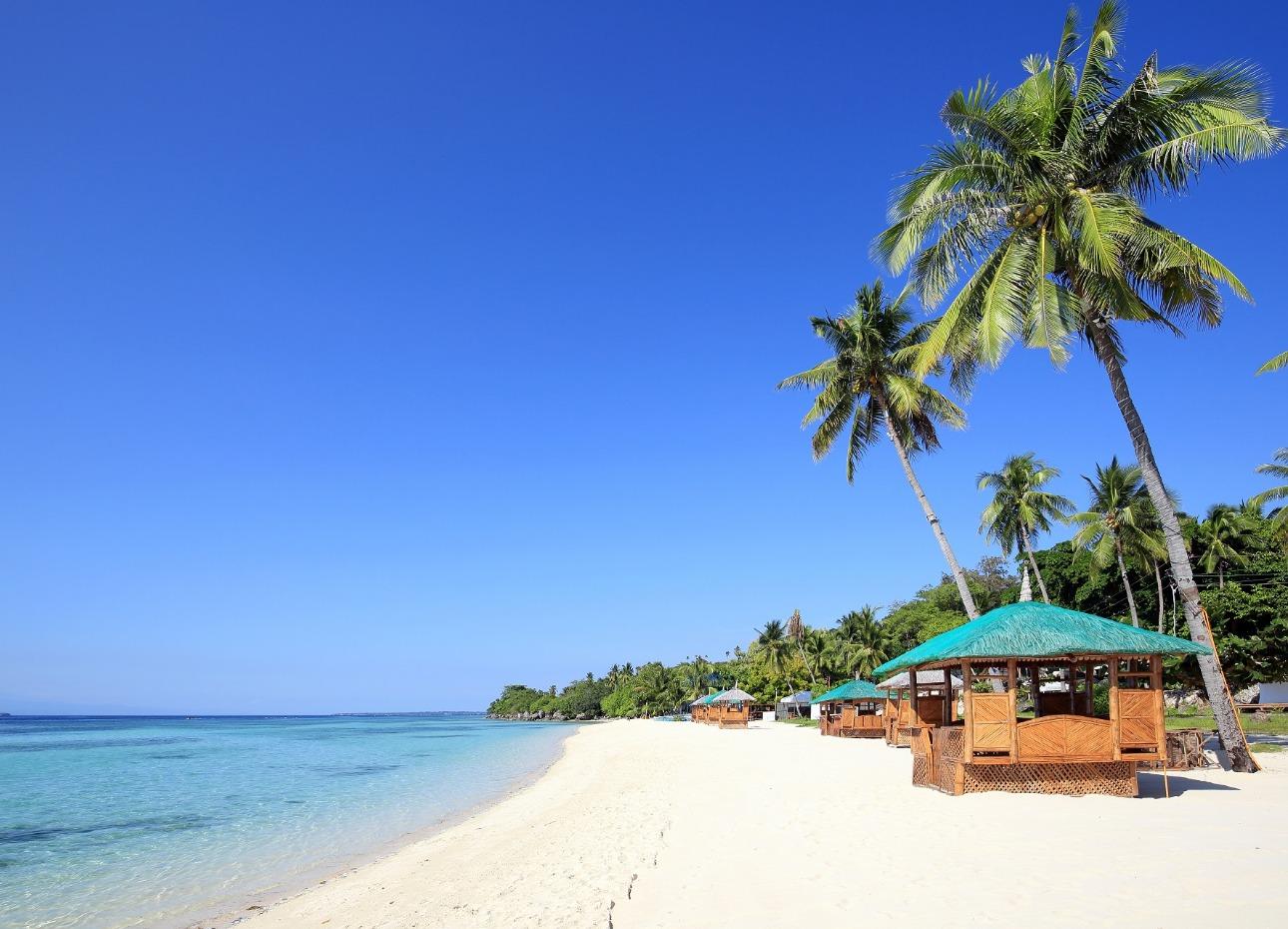 Philippines, Resort, White, Sand, Beaches, image,