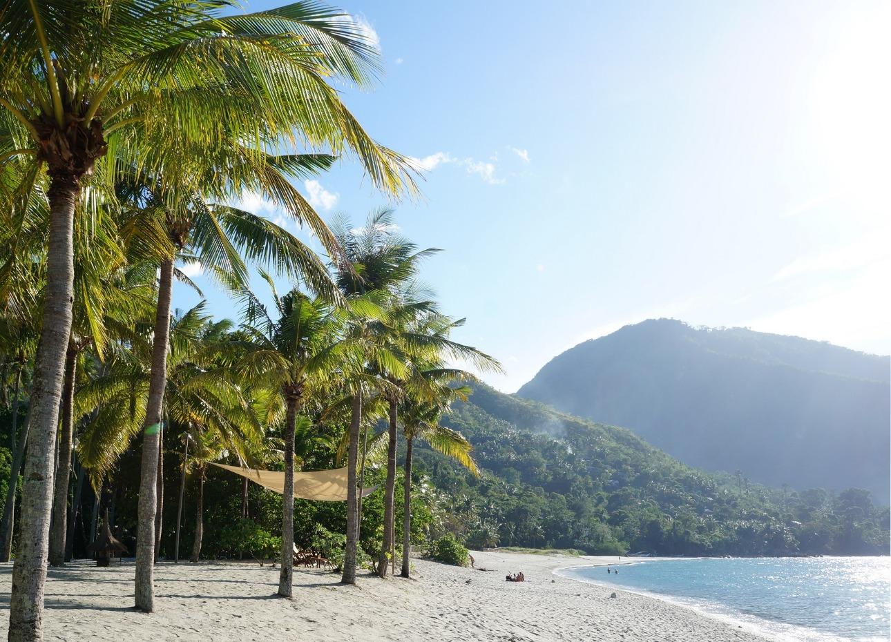Philippines, Resort, Mountain backdrop, image,