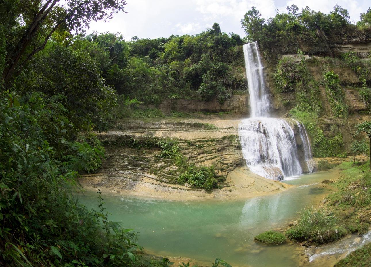 Philippines, Resort, Waterfall, image,