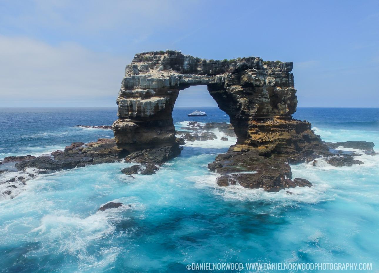 Darwin Arch in the Galapagos Islands
