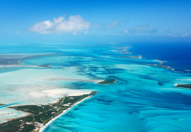 Bahamas aerial image