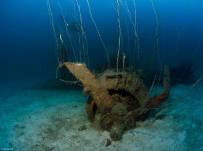 Bikini Atoll, USS Saratoga, credit to Thomas Ley