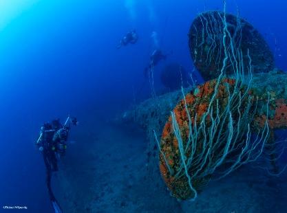 Bikini Atoll, HIJMS Nagato, credit to Robert Wilpernig