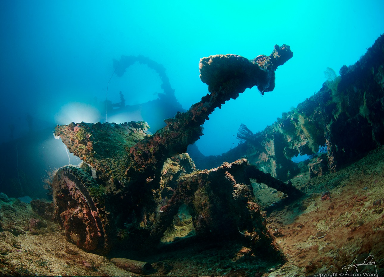 Truk Lagoon, wreck diving, credit to Aaron Wong