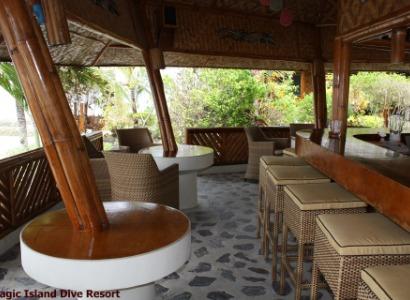 Philippines, Moalboal Magic Island, Dive Resort, Bar, image,