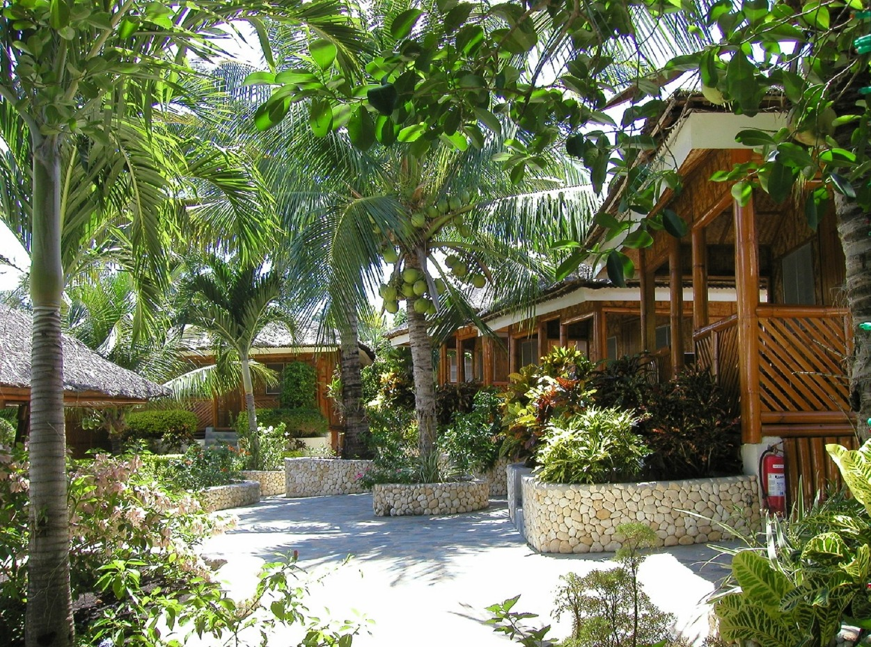 Philippines, Moalboal Magic Island, Dive Resort, Overview, image,