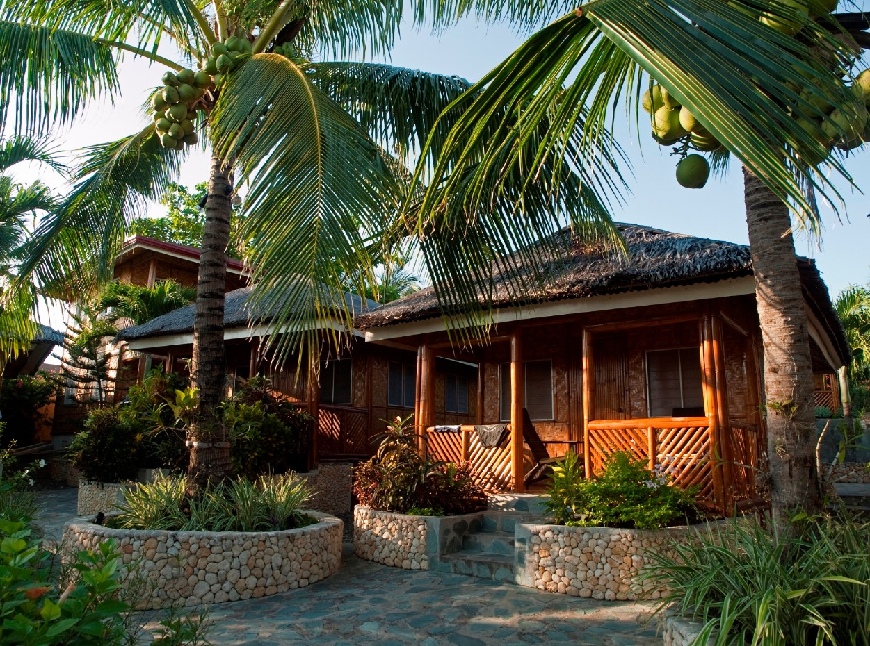 Philippines, Moalboal Magic Island, Dive Resort, Cottages, Front Cottages, image,