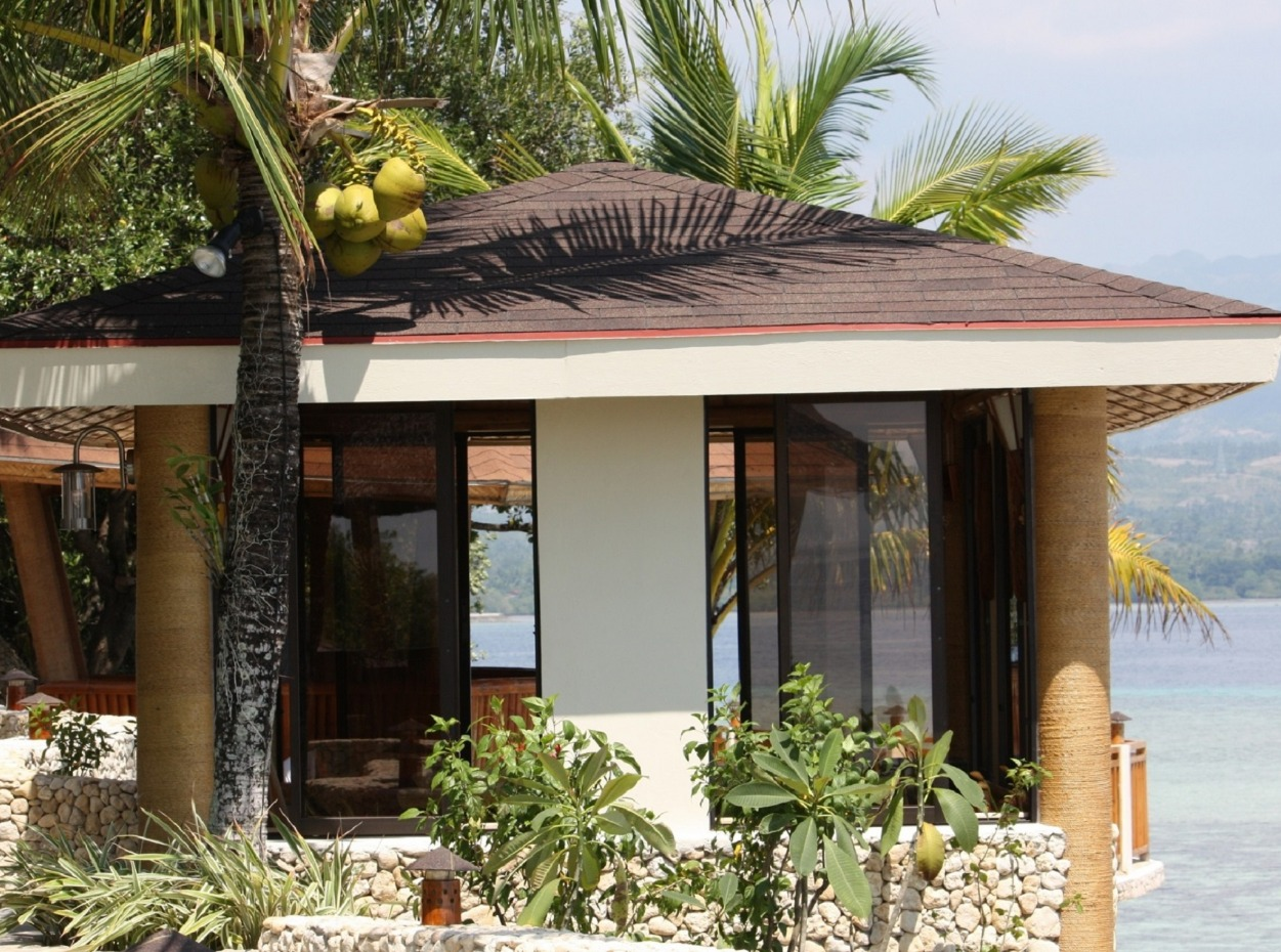 Philippines, Moalboal Magic Island, Dive Resort, Cottages, Sea Front, image,