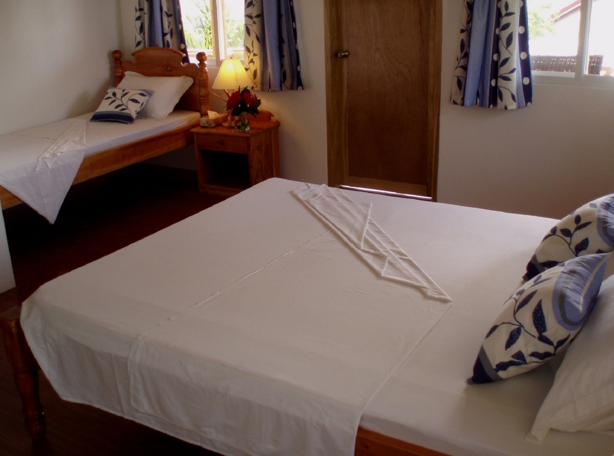 Philippines, Moalboal Magic Island, Dive Resort, Cottages, Bedroom, image,