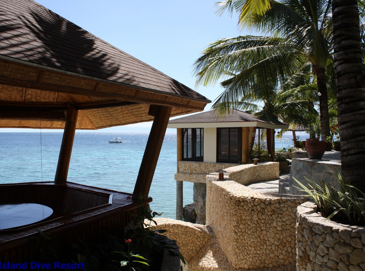 Philippines, Moalboal Magic Island, Dive Resort, Cottages, Seaview, image
