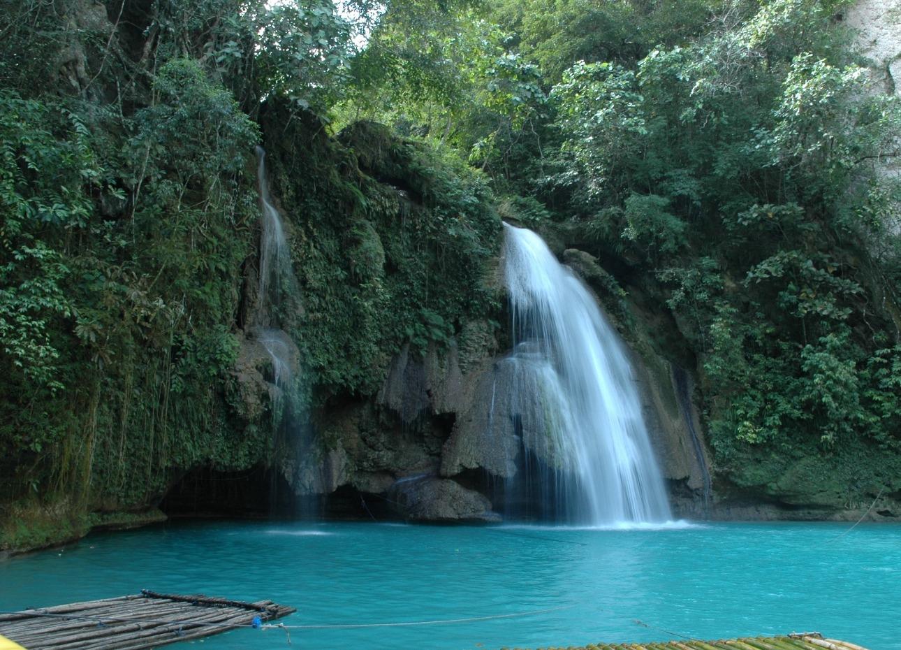Philippines, Moalboal Magic Island, Dive Resort, Kawasan Falls, image,