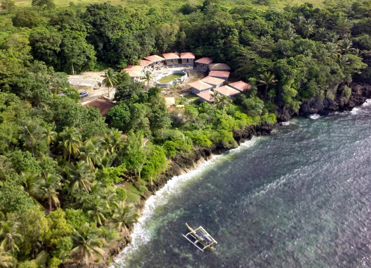 Philippines, Bohol, Magic Oceans Dive Resort, Arial View, image