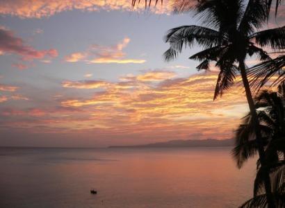 Philippines, Bohol, Magic Oceans Dive Resort, Sunset, image