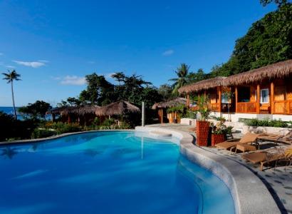 Philippines, Bohol, Magic Oceans Dive Resort, Poolside Bar, image