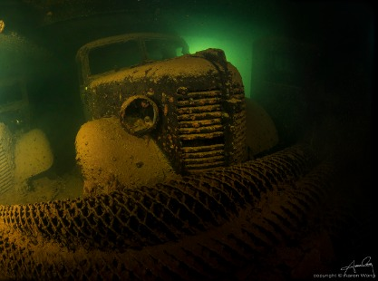 Hoki Maru, Truk Lagoon dive site, credit to Aaron Wong