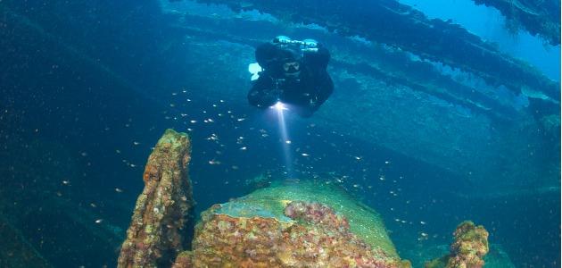 Truk Lagoon, tekstreme wreck diving