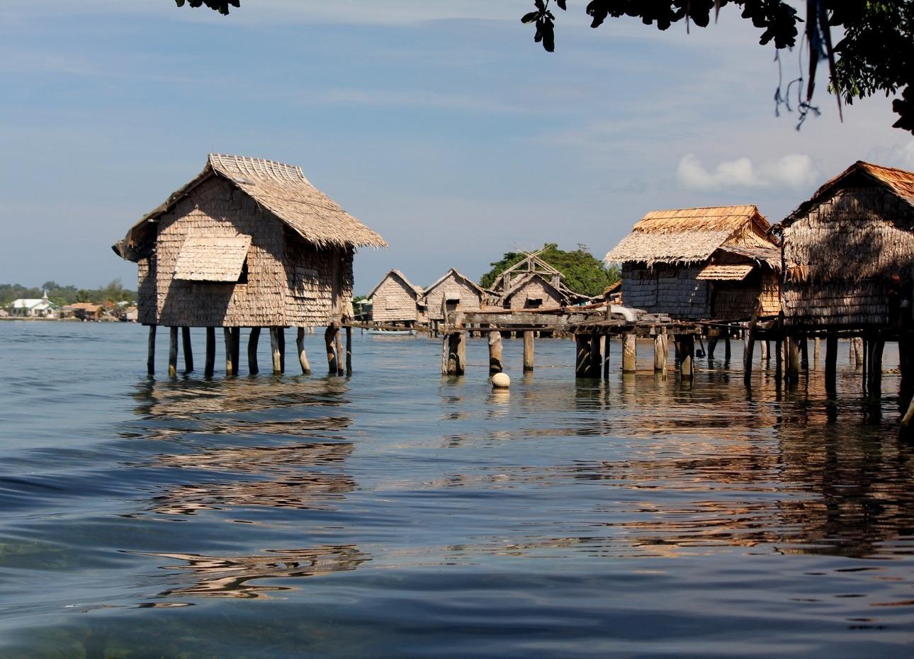 Solomon Islands, Stilt Houses, image