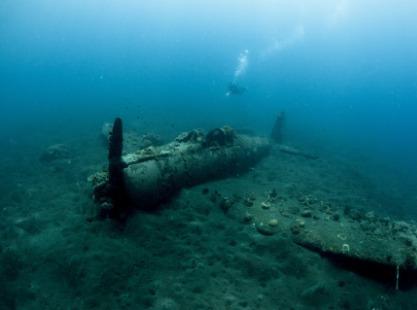 M/V Solomons PNG Master, Japanese Mavis Seaplane, image