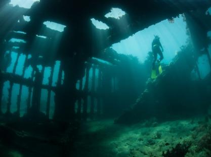 M/V Solomons PNG Master, Historic Wrecks, image