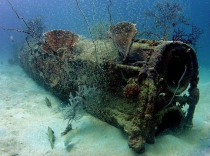 Solomon Islands, WWII Wrecks, image