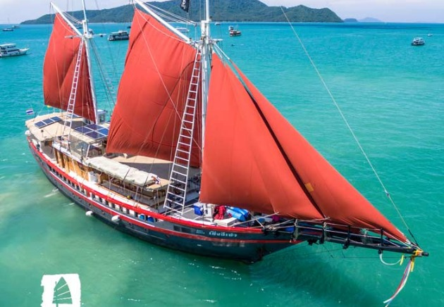 The Phinisi liveaboard, Thailand and Myanmar