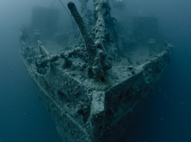 Rosalie Moller wreck in Egypt, Red Sea
