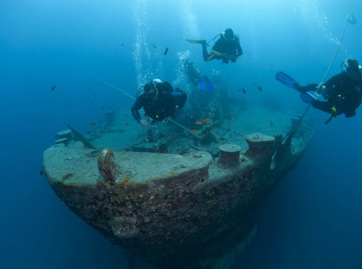 SS Thistlegorm wreck in Egypt, Red Sea