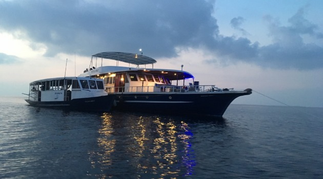 M/V Blue Spirit in the Maldives