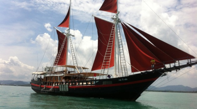 The Phinisi, Thailand liveaboard