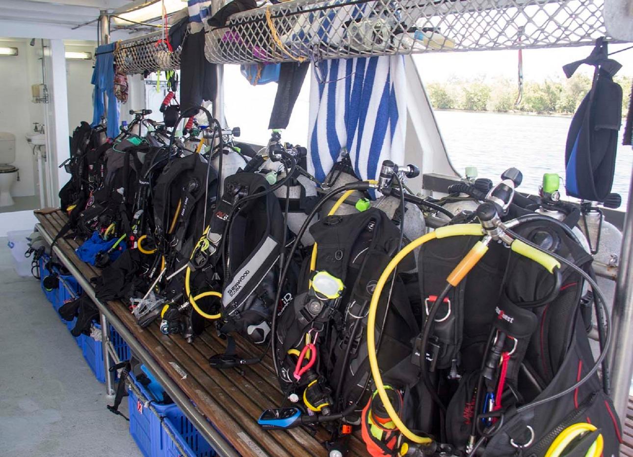 M/V Solomons PNG Master, Diving Equipment, image